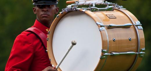 alat musik perkusi drum bass