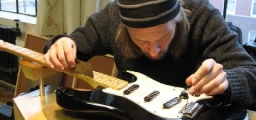 merawat pickup gitar