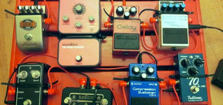 pedal efek gitar dan fungsinya