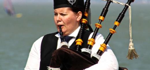 sejarah alat musik bagpipe